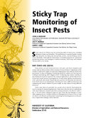 Sticky Trap Monitoring of Insect Pests