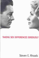 Taking Sex Differences Seriously Book