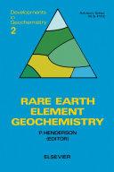 Rare Earth Element Geochemistry
