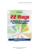 22 Ways of Highly Successful Retail Managers