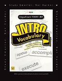 LinguaForum TOEFL IBT Intro Vocabulary