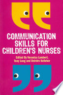 Communication Skills For Children S Nurses