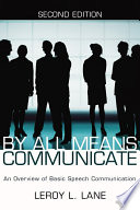 By All Means Communicate