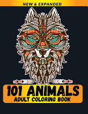101 Animals Adult Coloring Book Book