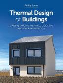 Thermal Design of Buildings