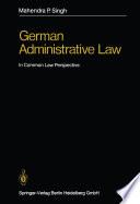 German Administrative Law