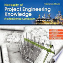 Necessity of Project Engineering Knowledge in Engineering Curriculum Book