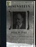 Eisenstein  1898 1948
