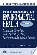 Handbook of Environmental Health  Two Volume Set Book