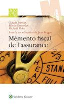 Mémento fiscal de l'assurance 2016