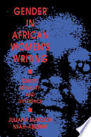 Gender in African Women's Writing