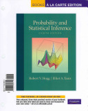 Probability And Statistical Inference Books A La Carte Edition Book PDF