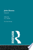 John Donne The Critical Heritage