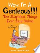 Wow I m A Genieous     Book