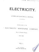 Electricity, a Popular Electrical Journal ...