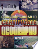 A Complete Course In Certificate Geography