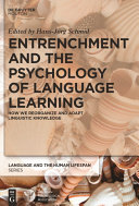 Entrenchment and the Psychology of Language Learning [Pdf/ePub] eBook