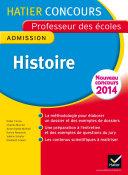Concours professeur des écoles 2015 - Histoire - Epreuve orale d'admission
