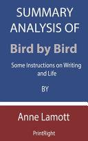 Summary Analysis Of Bird by Bird