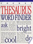 Thesaurus Word Finder