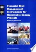 Financial Risk Management Instruments For Renewable Energy Projects Book PDF