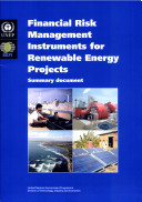 Financial Risk Management Instruments for Renewable Energy Projects
