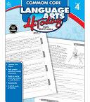 Common Core Language Arts 4 Today, Grade 4