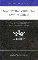 Navigating Criminal Law in China