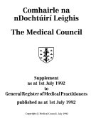 General Register of Medical Practitioners