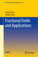 Fractional Fields and Applications ebook