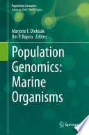 Population Genomics  Marine Organisms