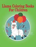 Llama Coloring Book for Children Book