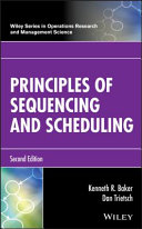 Pdf Principles of Sequencing and Scheduling Telecharger