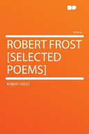 Robert Frost [Selected Poems]