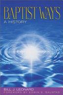 Baptist Ways