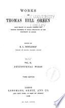 Philosophical Works Vol Iii Miscellanies And Memoir