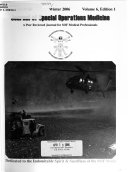 Journal of Special Operations Medicine