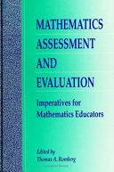 Mathematics Assessment and Evaluation
