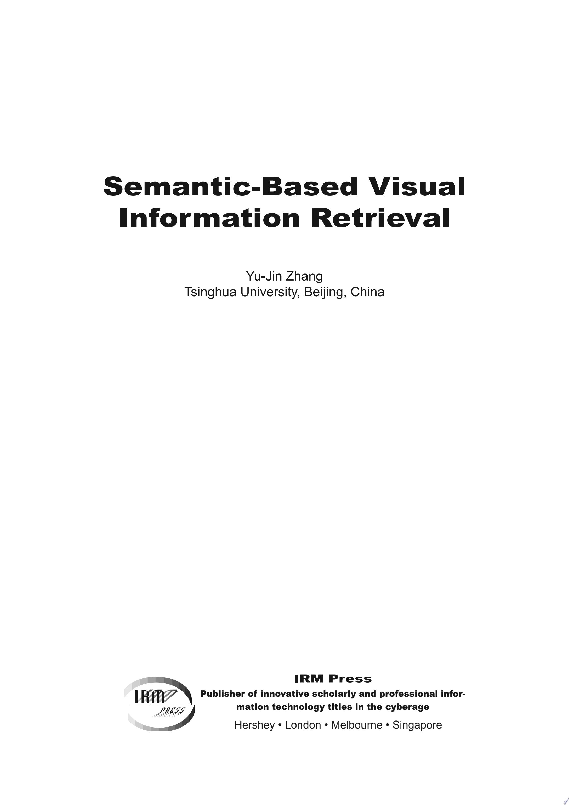 Semantic Based Visual Information Retrieval