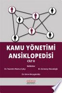 Kamu Yönetimi Ansiklopedisi Cilt II