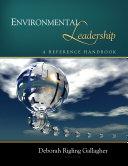 Environmental Leadership Pdf/ePub eBook
