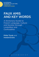 Faux Amis and Key Words