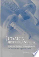 Judaica Reference Sources Book PDF