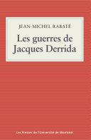 Pdf Les guerres de Jacques Derrida Telecharger
