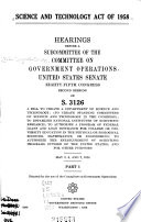 Science And Technology Act Of 1958