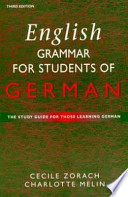 English Grammar for Students of German