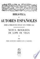 Nueva Biografia de Lope de Vega