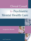Clinical Consult For Psychiatric Mental Health Care Book PDF