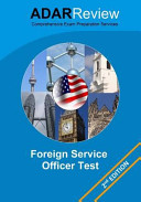 Foreign Service Officer Test (FSOT) 2013 Edition