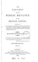 The history of the public revenue of the British empire ebook